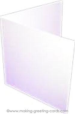 basic blank card