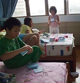children card making