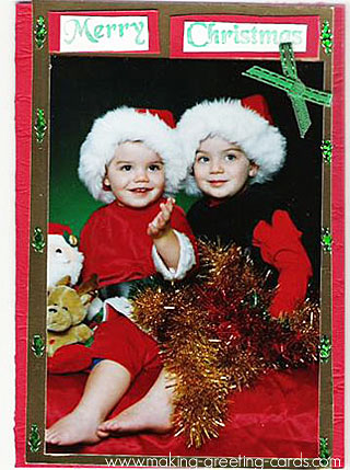 christmas photo card 2
