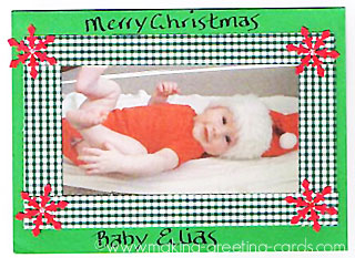 christmas photo card 3