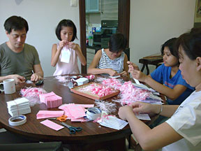 family card making