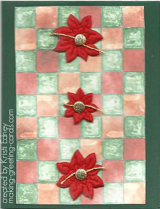 poinsettia christmas card by kristi edney   /> <!-- PinIt Error: We could not add the Pin It button to the above