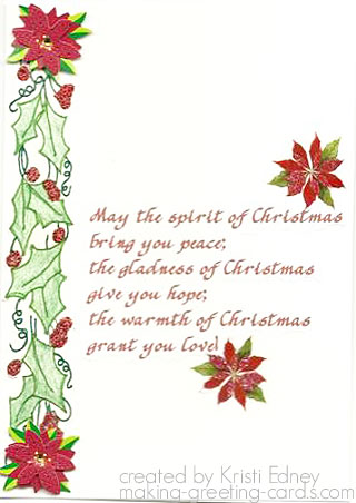 spirit of christmas card
