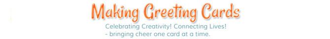 making greeting cards