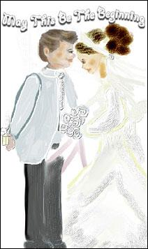 anna angelou wedding card