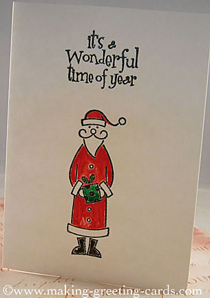 Santas Claus Christmas Card