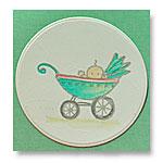 baby pram card