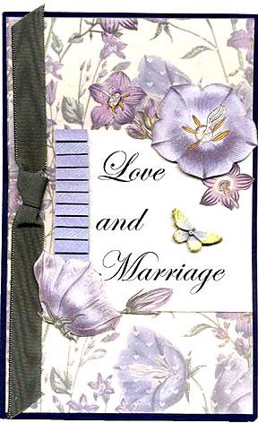 wedding card/Wedding Card by Barbara