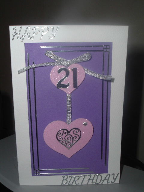 cards for 21st birthday. A Happy 21st Birthday Card - great card for