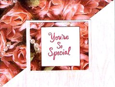 you're so special valentines day card