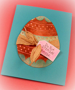 easter greeting cards/Do Not Open Until Easter