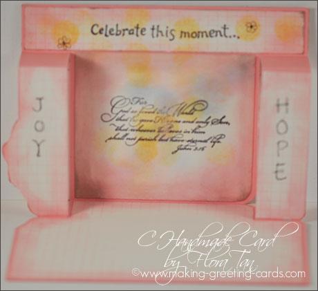 easter step card inside/Inside Easter Card