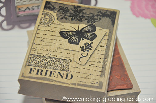 hero arts rubber stamp/Hero Arts Collage Friend