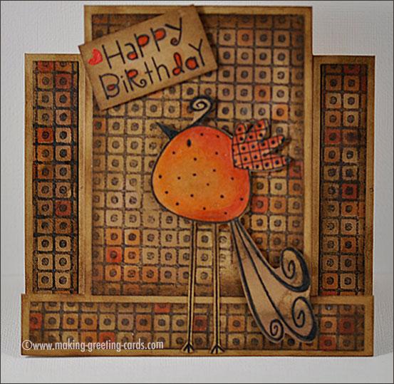 homemade birthday cards/Step Birthday Card