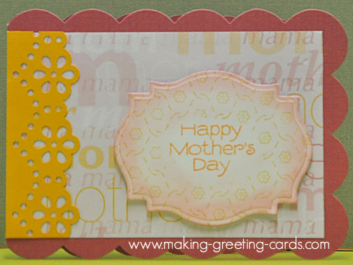 mothers day card/Happy Mother's Day Card  2