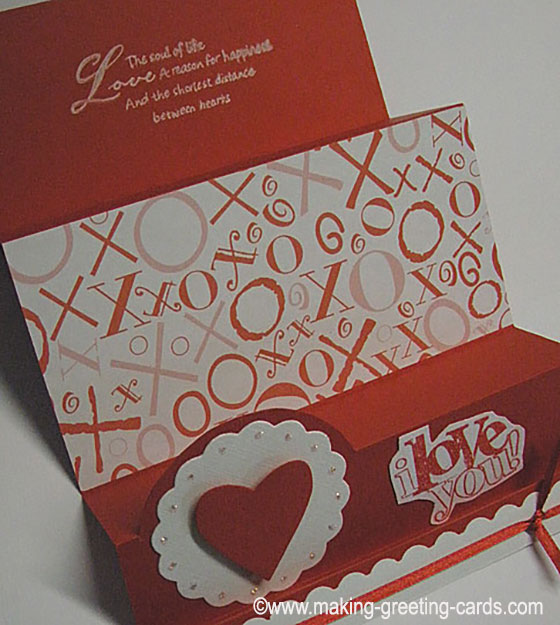 Valentines Day Card - XOXO Love