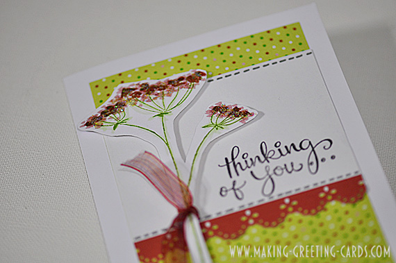 thinking of you greeting card/Thinking of You