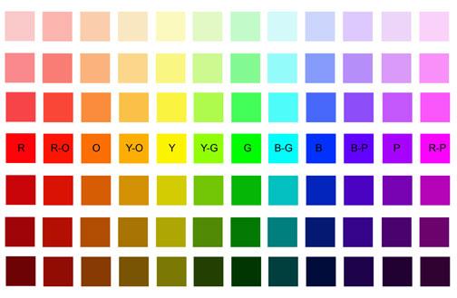 color chart/Color Chart