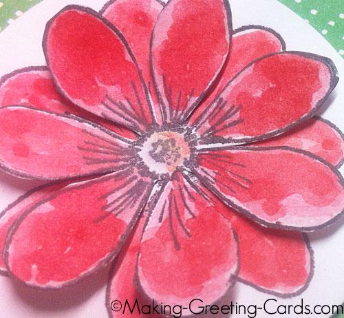 handmade thank you card/Handmade Thank You Card
