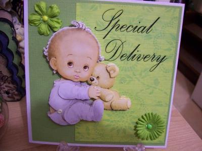 Fairy Baby Card
