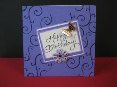 Gorgeous Birthday Swirls