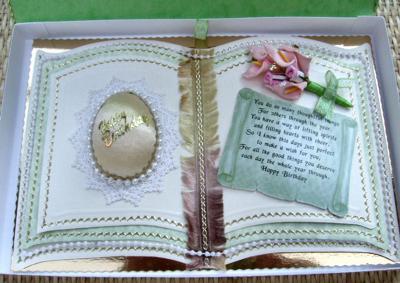 A Bookatrix Egg Card