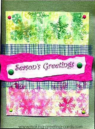 Handmade Paper Christmas Cards
