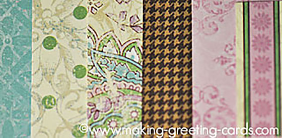 card making paper