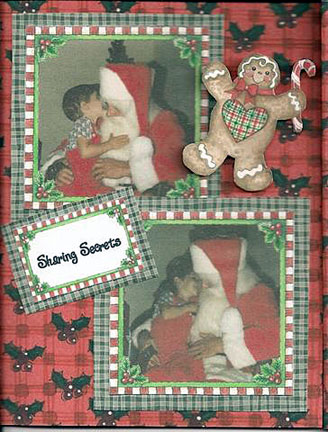 Christmas Photo Card - Santa
