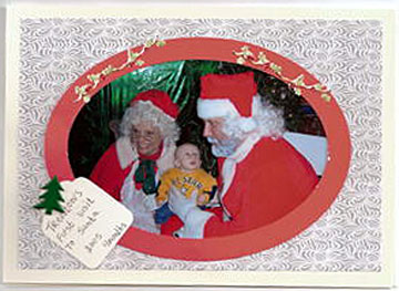 Christmas Photo Card by Rosie Guiher