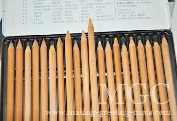 card making supplies/Prismacolor Pencils