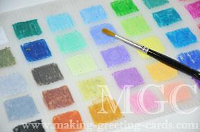 diy crayon palette