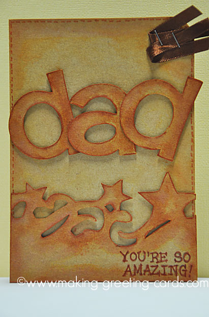 cricut amazing dad card/Cricut Father's Day Card