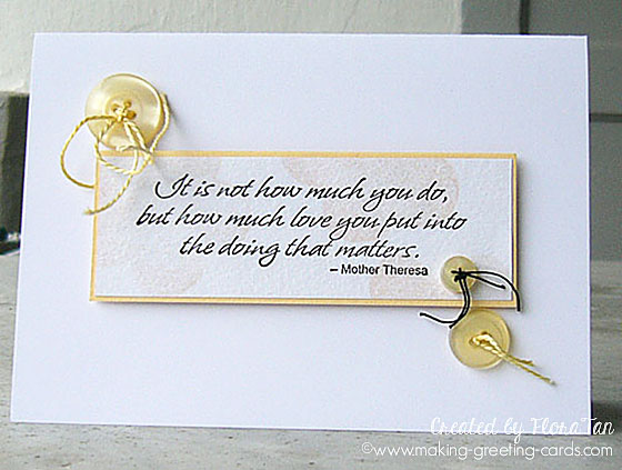 Cute as a button cards for Where can i use my synchrony home design card