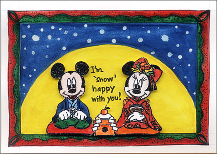 Disney Christmas Card