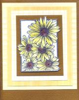flora handmade card
