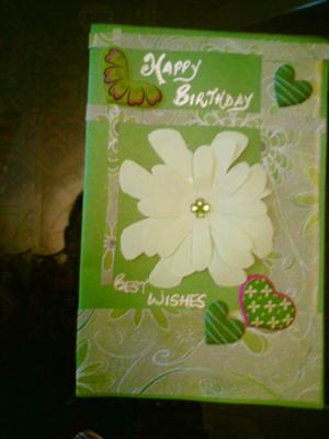 Homemade Birthday Card