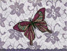 homemade butterfly