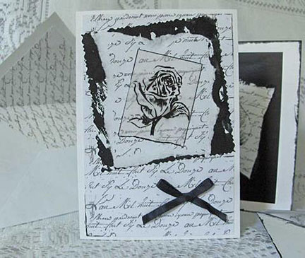 letter of love/Black & White Letter of Love