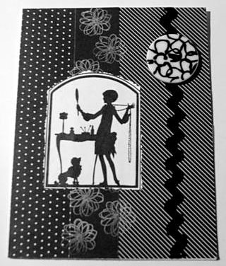 black and white card/Black & White Beauty Grooming