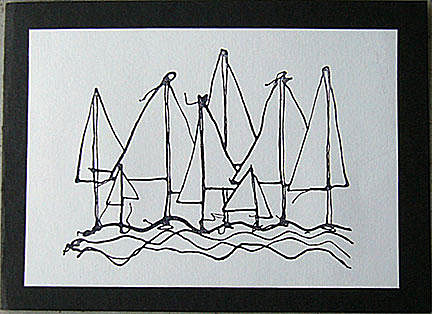 sailing boats card/Sailing Boats