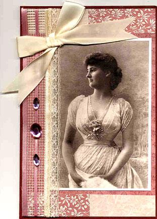 handmade photo card/Handmade Photo Card