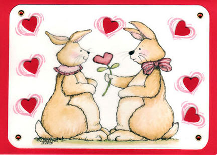 valentine greeting cards for friends. Family, for best friends