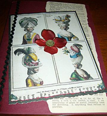 Handmade Victorian Card