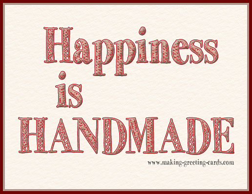 happiness is handmade