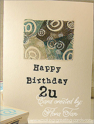 Happy Birthday Card To U