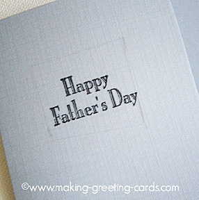 happy fathers day card/Happy Father's Day Card - Step 3
