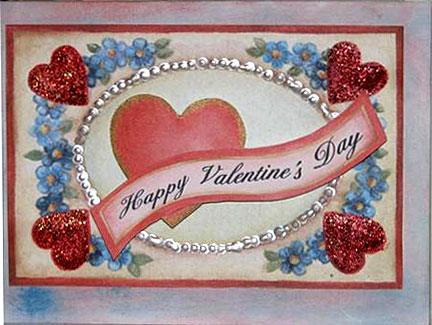 A Victorian Valentine Card. Created by: Karen Knegten. Country : USA