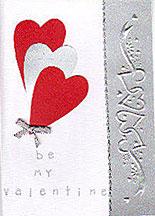 Romantic Happy Valentines Day Card