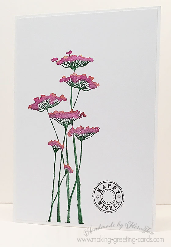 Some floral handmade cards floral handmade card thecheapjerseys Images